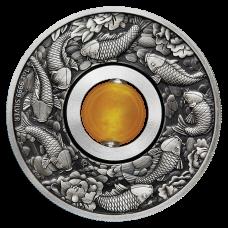 2018 $1 Good Luck Rotating Charm Coin