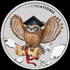 2018 $1 Graduation Silver Coin
