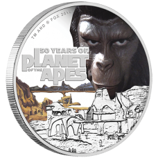 2018 $1 Planet of the Apes Silver Proof