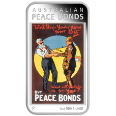 2018 $1 Wartime Posters - Peace Bonds