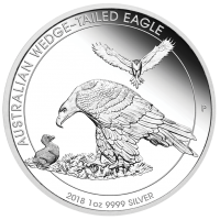 2018 $1 Wedgetail Eagle Silver Proof