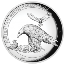 2018 $1 Wedgetail Eagle High Relief