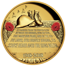 2018 $200 ANZAC Spirit - In Flanders Field Gold Proof