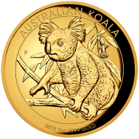 2018 $200 Koala Gold High Relief Proof