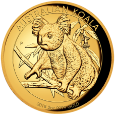 2018 $200 Koala Gold High Relief Proof