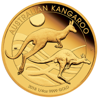2018 $25 Kangaroo Gold Proof