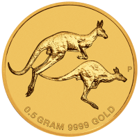 2018 $2 Mini Roo Gold Coin