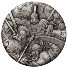 2018 $2 Warfare - Roman Legion Antique Silver Coin