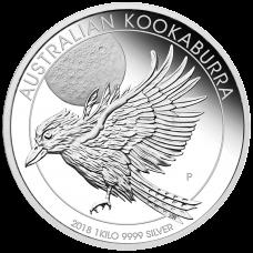 2018 $30 Kookaburra Silver Proof