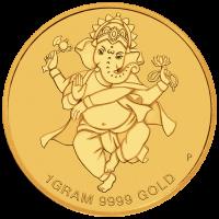2018 $4 Diwali Gold Coin