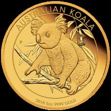 2018 $500 Koala Gold Proof
