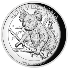 2018 $8 Koala Silver High Relief Proof