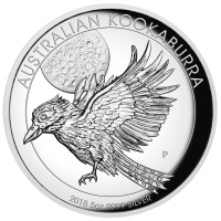 2018 $8 Kookaburra High Relief