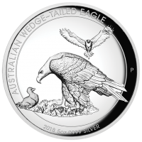 2018 $8 Wedgetail Eagle High Relief Silver Proof
