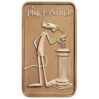 2018 1oz Pink Panther Pink Gold Pink Diamond Ingot