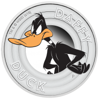 2018 50c Daffy Duck Silver Proof