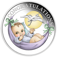 2018 50c Newborn Silver Proof