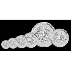 2018 1/2oz Lunar Dog Silver Bullion Coin