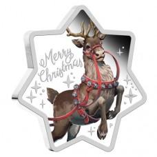 2019 $1 Christmas Reindeer