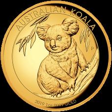 2019 $100 Koala High Relief Gold Proof