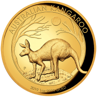 2019 $100 Kangaroo High Relief Gold Proof