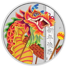 2019 $1 Chinese New Year Silver Coin