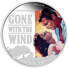 2019 $1 Gone With the Wind Silver Proof