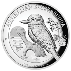 2019 $1 Kookaburra High Relief Silver Proof