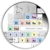 2019 $1 Periodic Table Silver Proof