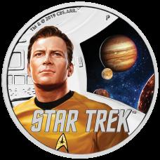 2019 $1 Star Trek - Kirk Silver Proof