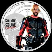 2019 $1 Suicide Squad - Deadshot Silver Proof