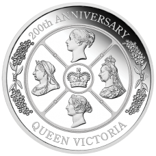 2019 $1 Queen Victoria Silver Proof