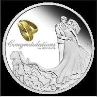 2019 $1 Wedding Silver Proof