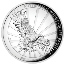 2019 $1 Wedgetail Eagle Silver High Relief Proof