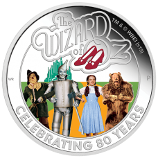 2019 $1 Wizard Of Oz Silver Proof