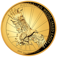 2019 $200 Wedgetail Eagle High Relief Gold Proof