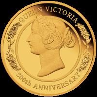 2019 $25 Queen Victoria Gold Proof