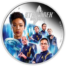 2019 $2 Star Trek Discovery Crew Silver Proof