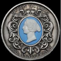 2019 $2 Queen Victoria Antique Silver Coin