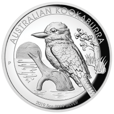 2019 $8 Kookaburra High Relief Silver Proof
