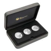 2019 $1 High Relief Silver Proof Collection