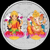 2019 Diwali Silver Medallion