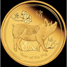 2019 $100 Lunar Pig Gold Proof