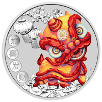 2020 $1 Chinese New Year Silver Coin