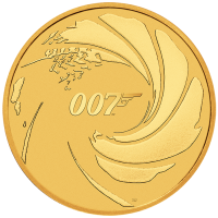 2020 $100 James Bond Gold Coin