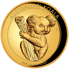 2020 $100 Koala Gold High Relief Proof