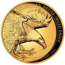 2020 $100 Wedge Tail Eagle High Relief Gold Proof