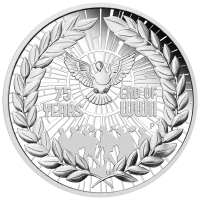 2020 $1 75th Anniversary of the End of WWII Silver Proof