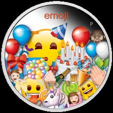 2020 $1 Emoji Silver Proof