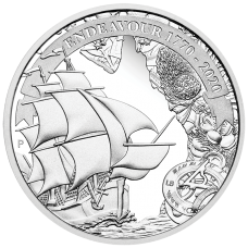 2020 $1 Voyage of Discovery - Endeavour Silver Proof